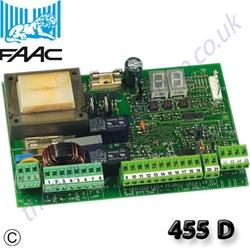 Faac 455d 455 D Control Board Manual Egates Knowledge Base