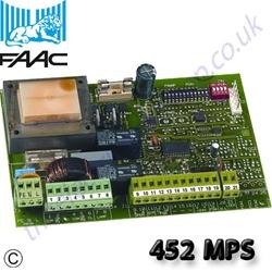 Faac 452 Mps Control Board Manual Egates Knowledge Base